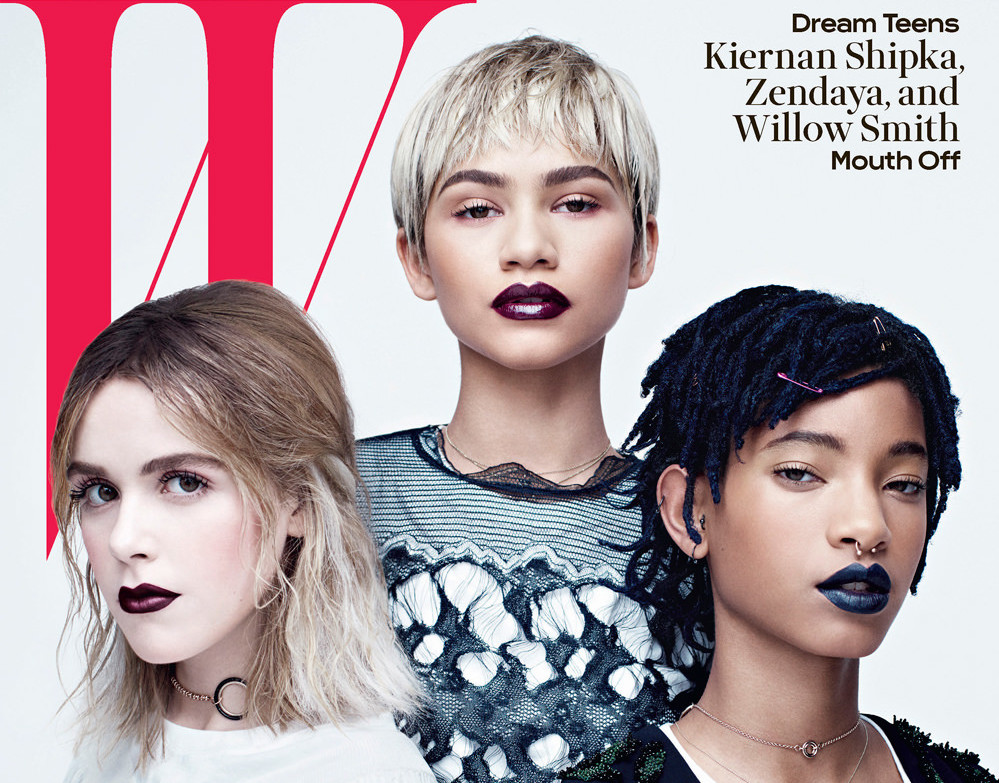 Zendaya-Willow-Smith-Kiernan-Shipka-W-Magazine-April-2016-Issue-Tom-Lorenzo-Site-1