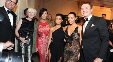 Joanna Coles, Kris Jenner, Kourtney Kardashian, Kim Kardashian, Michael Clinton