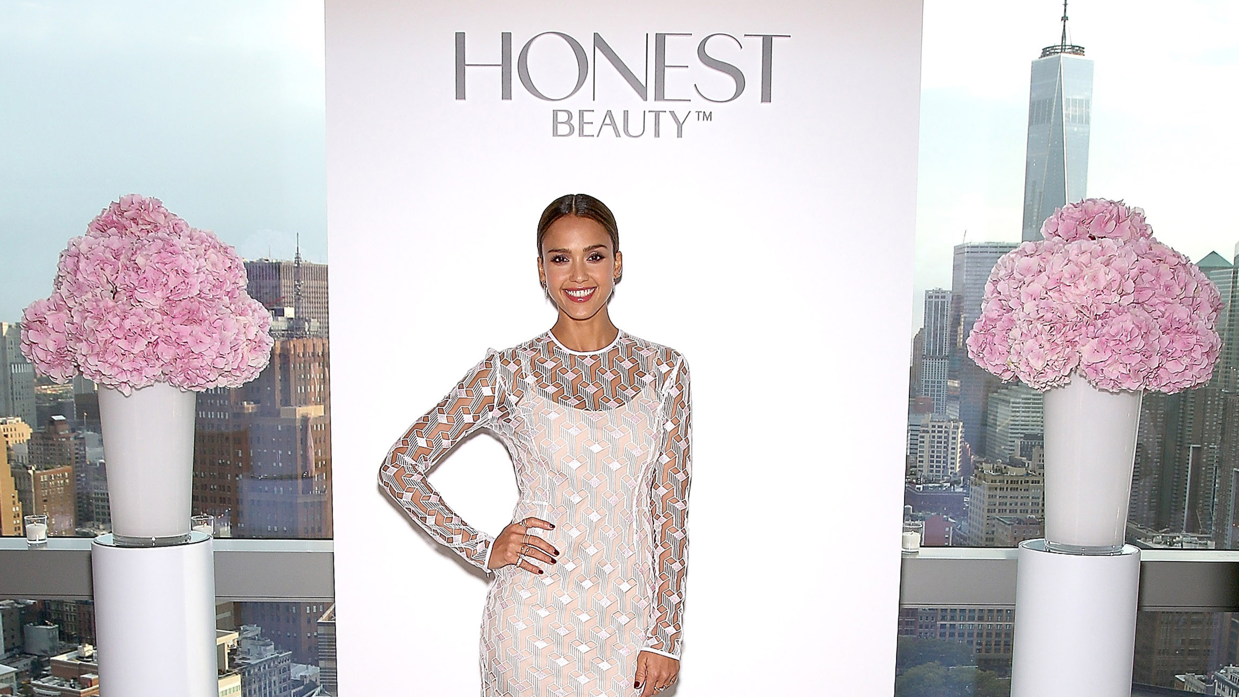 NEW YORK, NY - SEPTEMBER 09:  Actress Jessica Alba, Founder and Chief Creative Officer of The Honest Company, attends the Honest Beauty Launch at Trump SoHo on September 9, 2015 in New York City.  (Photo by Paul Zimmerman/Getty Images)