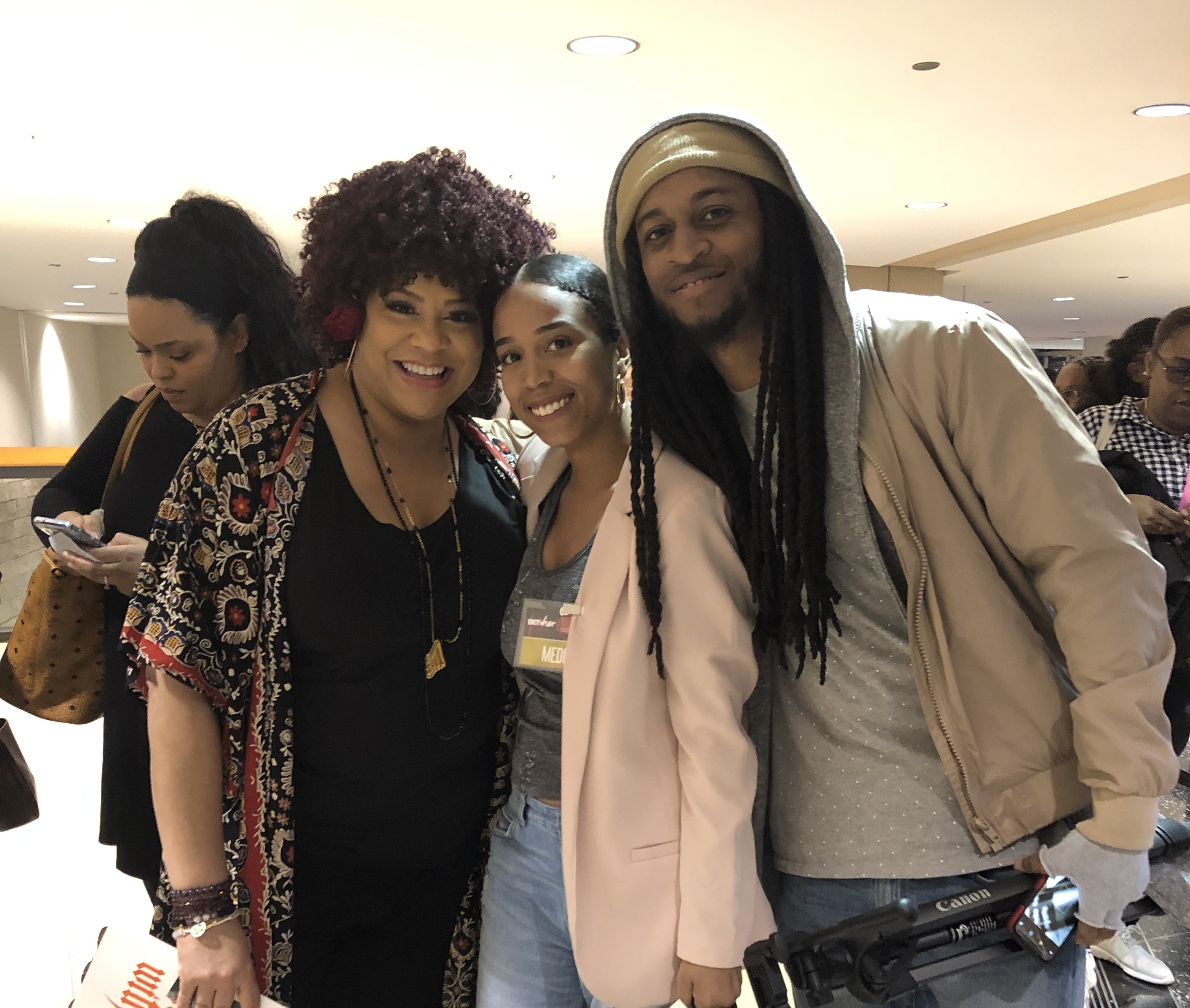 Kim Coles, Briea Chanel and Donnel Perry