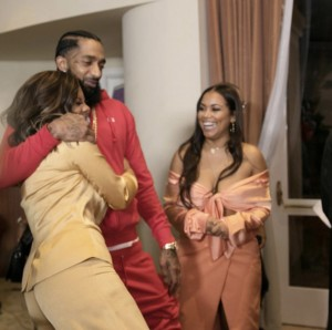 MISS DIDDY, NIPSEY HUSSLE AND LAUREN LONDON
