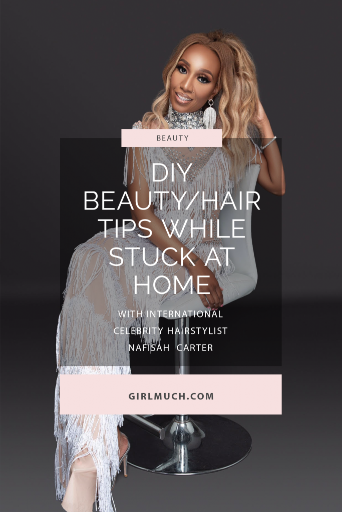 Meet Nafisah Carter, an international celebrity hairstylist who began her career at Rita Hazan Salon that is well known for slaying the manes of Beyonce, Kim Kardashian and Jennifer Lopez. In this Q&A, she shares her coming-of-age beauty story and a few must have DIY hair care tips!